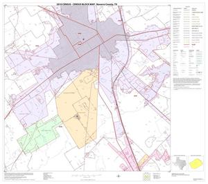 Primary view of object titled '2010 Census County Block Map: Navarro County, Block 14'.