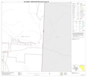 Primary view of object titled '2010 Census County Block Map: El Paso County, Block 20'.