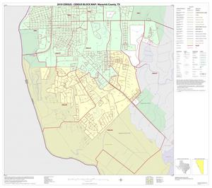 Primary view of object titled '2010 Census County Block Map: Maverick County, Inset C02'.
