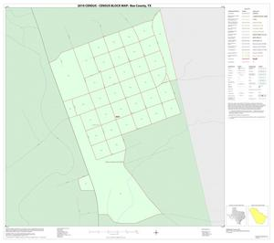Primary view of object titled '2010 Census County Block Map: Bee County, Inset A01'.