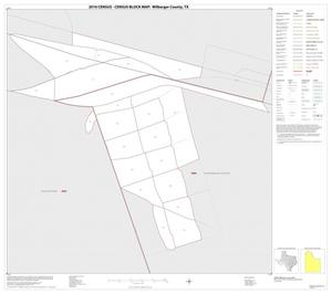 Primary view of object titled '2010 Census County Block Map: Wilbarger County, Inset B01'.