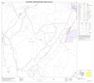 Primary view of object titled '2010 Census County Block Map: Walker County, Block 18'.