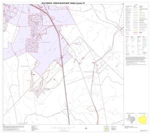 Primary view of object titled '2010 Census County Block Map: Walker County, Block 19'.