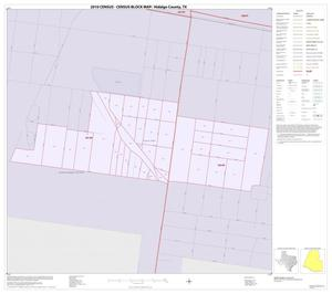 Primary view of object titled '2010 Census County Block Map: Hidalgo County, Inset T01'.