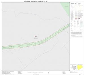 Primary view of object titled '2010 Census County Block Map: Ellis County, Inset C01'.