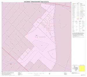 Primary view of object titled '2010 Census County Block Map: Dallas County, Inset L01'.