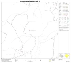Primary view of object titled '2010 Census County Block Map: Pecos County, Block 62'.