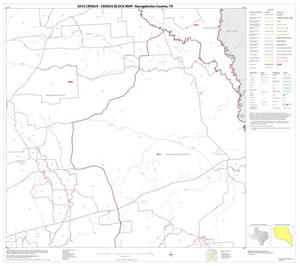 Primary view of object titled '2010 Census County Block Map: Nacogdoches County, Block 8'.