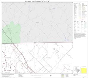 Primary view of object titled '2010 Census County Block Map: Wise County, Block 3'.
