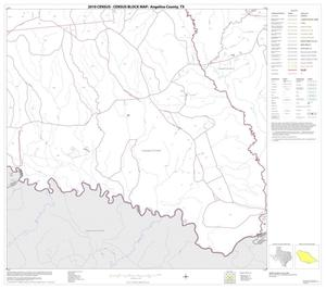 Primary view of object titled '2010 Census County Block Map: Angelina County, Block 26'.
