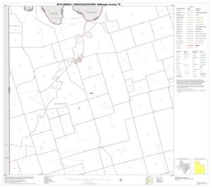 Primary view of object titled '2010 Census County Block Map: Wilbarger County, Block 3'.