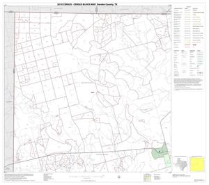 Primary view of object titled '2010 Census County Block Map: Borden County, Block 1'.