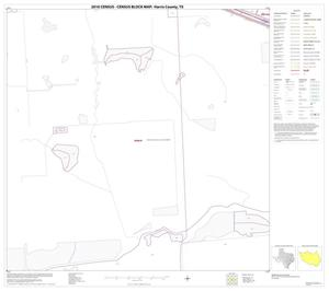 Primary view of object titled '2010 Census County Block Map: Harris County, Block 85'.