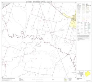 Primary view of object titled '2010 Census County Block Map: Milam County, Block 10'.