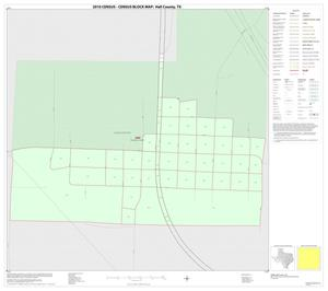 Primary view of object titled '2010 Census County Block Map: Hall County, Inset C01'.