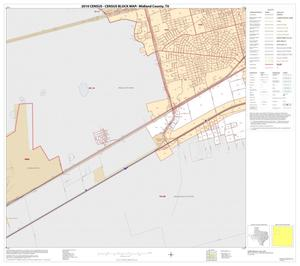 Primary view of object titled '2010 Census County Block Map: Midland County, Inset A03'.