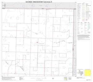 Primary view of object titled '2010 Census County Block Map: Castro County, Block 3'.