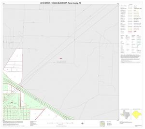 Primary view of object titled '2010 Census County Block Map: Pecos County, Inset B03'.