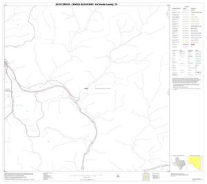 Primary view of object titled '2010 Census County Block Map: Val Verde County, Block 37'.