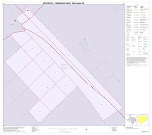 Primary view of object titled '2010 Census County Block Map: Ellis County, Inset M01'.