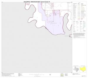 Primary view of object titled '2010 Census County Block Map: Cameron County, Block 64'.