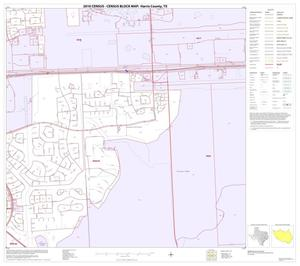 Primary view of object titled '2010 Census County Block Map: Harris County, Block 191'.
