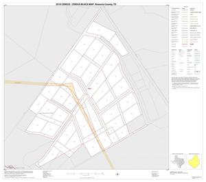Primary view of object titled '2010 Census County Block Map: Brazoria County, Inset M01'.