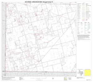Primary view of object titled '2010 Census County Block Map: Glasscock County, Block 3'.