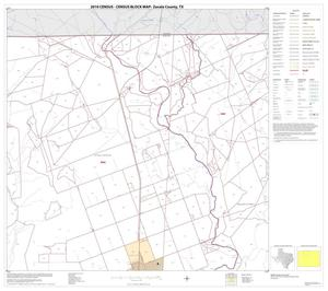 Primary view of object titled '2010 Census County Block Map: Zavala County, Block 2'.