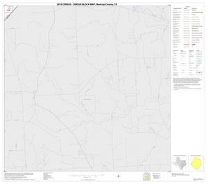 Primary view of object titled '2010 Census County Block Map: Bastrop County, Block 33'.