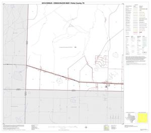 Primary view of object titled '2010 Census County Block Map: Potter County, Block 13'.