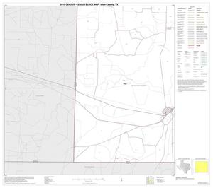 Primary view of object titled '2010 Census County Block Map: Irion County, Block 9'.