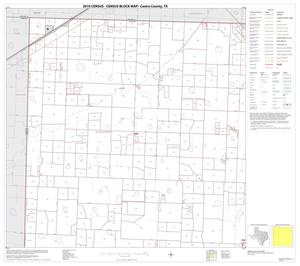 Primary view of object titled '2010 Census County Block Map: Castro County, Block 1'.