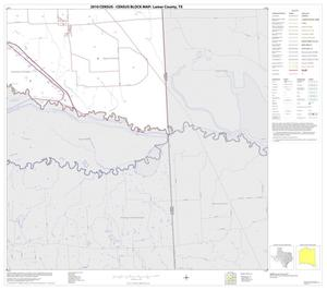 Primary view of object titled '2010 Census County Block Map: Lamar County, Block 26'.