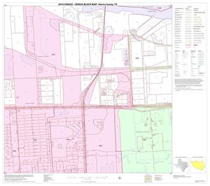 Primary view of object titled '2010 Census County Block Map: Harris County, Block 223'.