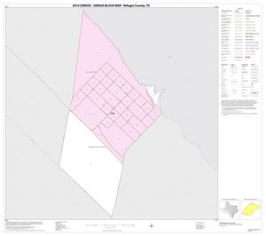 Primary view of object titled '2010 Census County Block Map: Refugio County, Inset B01'.