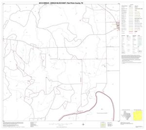 Primary view of object titled '2010 Census County Block Map: Palo Pinto County, Block 7'.