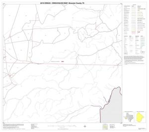 Primary view of object titled '2010 Census County Block Map: Brewster County, Block 61'.