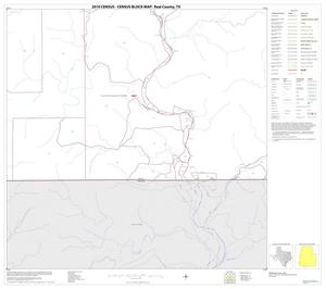 Primary view of object titled '2010 Census County Block Map: Real County, Block 35'.