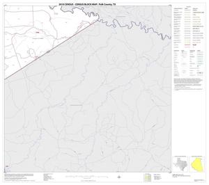 Primary view of object titled '2010 Census County Block Map: Polk County, Block 7'.