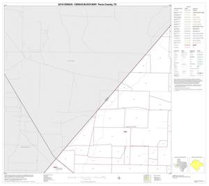 Primary view of object titled '2010 Census County Block Map: Pecos County, Block 6'.