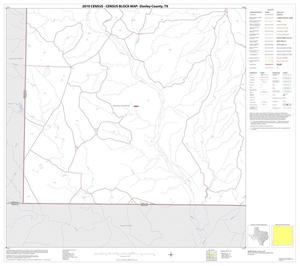 Primary view of object titled '2010 Census County Block Map: Donley County, Block 13'.