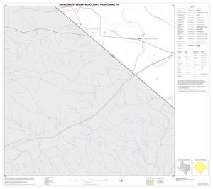 Primary view of object titled '2010 Census County Block Map: Pecos County, Block 79'.