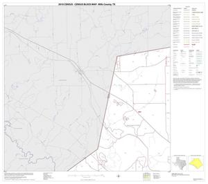Primary view of object titled '2010 Census County Block Map: Mills County, Block 1'.