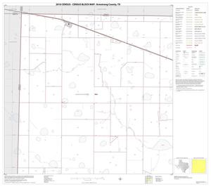 Primary view of object titled '2010 Census County Block Map: Armstrong County, Block 1'.