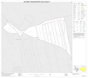 Primary view of object titled '2010 Census County Block Map: Cameron County, Inset S01'.