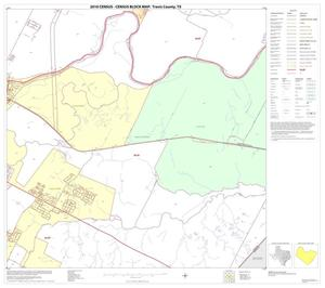 Primary view of object titled '2010 Census County Block Map: Travis County, Block 43'.