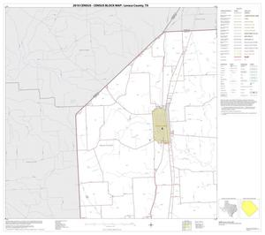 Primary view of object titled '2010 Census County Block Map: Lavaca County, Block 1'.