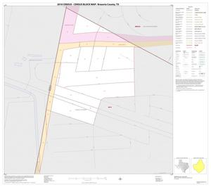 Primary view of object titled '2010 Census County Block Map: Brazoria County, Inset C01'.