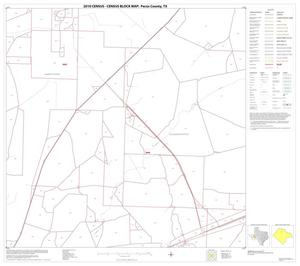 Primary view of object titled '2010 Census County Block Map: Pecos County, Block 16'.